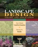 Landscape Design Theory and Application 2007 9781418012861 Front Cover