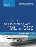 Sams Teach Yourself Web Publishing with HTML and CSS in One Hour a Day 5th 2006 Revised  9780672328862 Front Cover