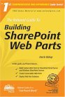 Building Sharepoint Web Parts 2004 9780972688864 Front Cover