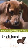 Dachshund 2nd 2005 Revised  9780764583865 Front Cover