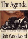 Agenda Inside the Clinton White House 1994 9780671864866 Front Cover
