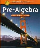 Pre-Algebra: California Edition cover art