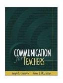 Communication for Teachers  cover art