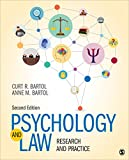 Psychology and Law: Research and Practice 2018 9781544338873 Front Cover