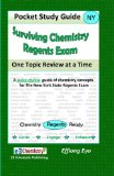 Surviving Chemistry Regents Exam: One Topic Review at a Time Pocket Study Guide 2011 9781460970874 Front Cover