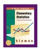 Elementary Statistics A Brief Version with Data CD-ROM 1st 1999 9780072357875 Front Cover
