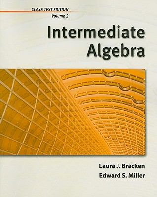 Intermediate Algebra, Volume 2, Chapters 6-8 2011 9781111987879 Front Cover