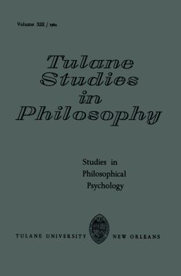 Studies in Philosophical Psychology 1964 9789024702879 Front Cover