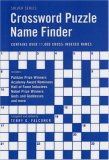 Crossword Puzzle Name Finder 2007 9781554072880 Front Cover