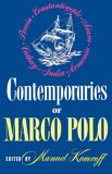 Contemporaries of Marco Polo 1980 9780871401885 Front Cover