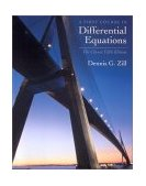 First Course in Differential Equations 5th 2000 Revised  9780534373887 Front Cover