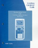 Graphing Calculator Guide for the TI-83 2nd 2010 9780538493888 Front Cover