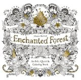 Enchanted Forest An Inky Quest and Coloring Book 2015 9781780674889 Front Cover
