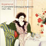 Rosamond A Complete Catalogue Raisonne, 1947-1994 2010 9780615359892 Front Cover
