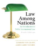 Law among Nations An Introduction to Public International Law 9th 2009 9780205746897 Front Cover