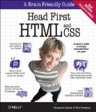 Head First HTML and CSS 2nd 2012 9780596159900 Front Cover