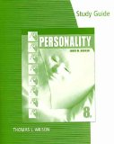 Personality 8th 2010 Guide (Pupil's) 9780495909903 Front Cover
