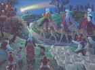 Journey to Bethlehem Advent Calendar 2008 9780735813908 Front Cover