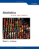 Statistics Plain and Simple 2nd 2009 9780495808909 Front Cover