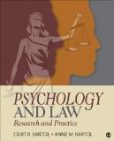 Psychology and Law Research and Practice 2014 9781452258911 Front Cover