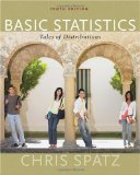 Basic Statistics Tales of Distributions 10th 2010 9780495808916 Front Cover