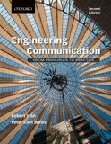 Engineering Communication From Principles to Practice 2nd 2013 9780195446920 Front Cover