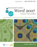 New Perspectives on Microsoft Office Word 2007, Comprehensive, Premium Video Edition 1st 2010 9780538475921 Front Cover