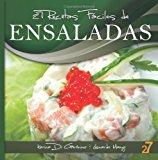 27 Recetas F�ciles de Ensaladas 2012 9781478153924 Front Cover