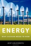 Energy What Everyone Needs to Know� 2012 9780199812929 Front Cover