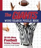 Giants Word Search Book 30 All New Football Trivia Puzzles 2010 9781604331929 Front Cover