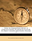 How to Understand Music A Concise Course of Musical Culture by Object Lessons and Essays, Volume 2 2012 9781286179932 Front Cover