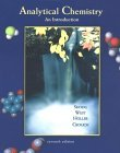 Analytical Chemistry An Introduction 7th 1999 9780030202933 Front Cover