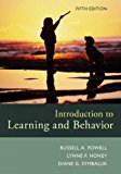Introduction to Learning and Behavior: