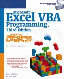 Microsoft Excel VBA Programming 3rd 2007 Revised  9781598633948 Front Cover