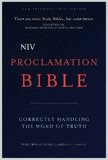 Niv Proclamation Bible 1st 2015 9780310437956 Front Cover