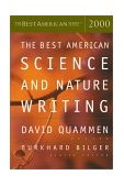Best American Science and Nature Writing 2000 2000 9780618082957 Front Cover