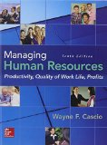 Managing Human Resources: Productivity, Quality of Work Life, Profits 9780078112959 Front Cover
