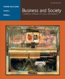 Business and Society A Strategic Approach to Social Responsibility 2nd 2004 9780618415960 Front Cover
