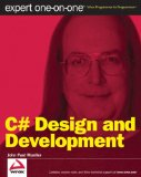 C# Design and Development Expert One on One 2009 9780470415962 Front Cover