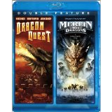 Case art for Dragonquest / Merlin & The War of the Dragons [Blu-ray]