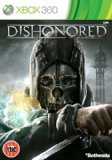 Case art for Dishonored Microsoft XBox 360 Game UK PAL