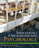 Industrial/Organizational Psychology An Applied Approach 7th 2012 9781111839970 Front Cover