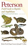 Peterson Field Guide to Reptiles and Amphibians of Eastern and Central North America, Fourth Edition 2016 9780544129979 Front Cover