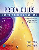 Precalculus Concepts Through Functions, a Right Triangle Approach to Trigonometry