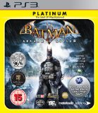 Case art for Batman: Arkham Asylum - Platinum (PS3) by Square Enix