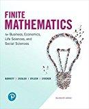 Finite Mathematics for Business, Economics, Life Sciences, and Social Sciences: