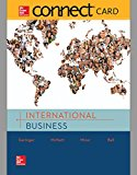 Connect 1-Semester Access Card for International Business 2015 9781259315985 Front Cover