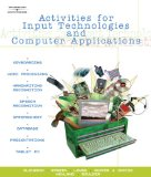 Activities for Input Technologies and Computer Applications 2005 9780538441988 Front Cover