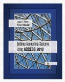 Building Accounting Systems Using Access 2010 8th 2011 9781111530990 Front Cover