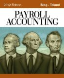 Payroll Accounting 2012 22nd 2011 9781111970994 Front Cover